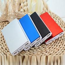 30000mAh bateria słoneczna przenośna ładowarka podwójne wyjście USB bateria zewnętrzna długotrwała duża pojemność do telefonu komórkowego Solar tanie tanio centechia Panel słoneczny 123*76*20mm DZ00907-01 Other 5V-1A 5V-2 1A 1 5W Universal solar mobile power 90 Suitable for all devices with USB charging