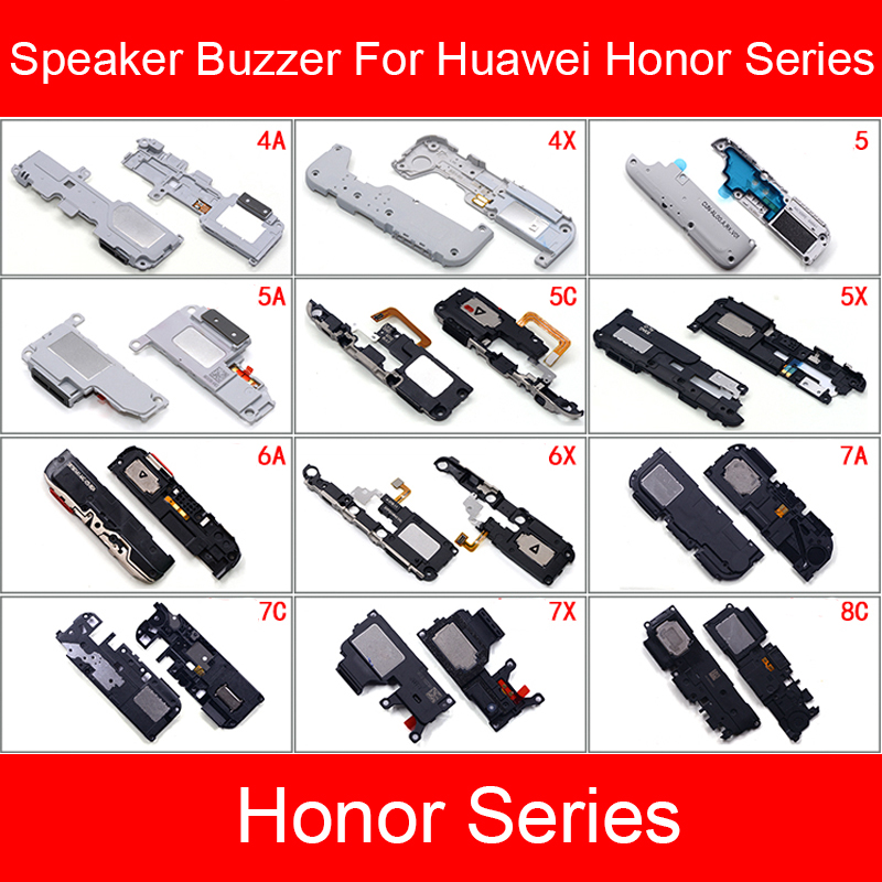 Loud Speaker Buzzer Module For Huawei Honor 4A 4X 5 5A 5C 5X 6A 6X 7A 7C 7X 8A 8C 8X Loudspeaker Ringer Flex Cable Repair Parts