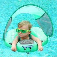 Baby Swimming Ring Floating Floats Swimming Pool Toy Safety Bathtub Pools Swim Trainer Solid No Inflatable For Accessories
