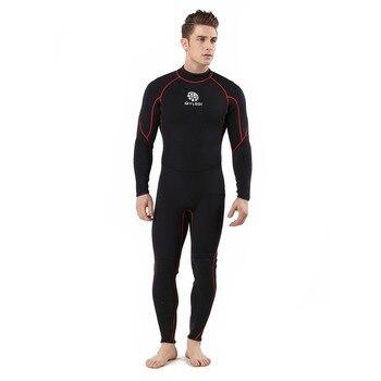 3mm One Piece Diving Suits Waterproof Suit Wetsuit Surfing Suit(MY029 XL)