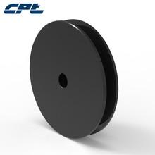 SPZ50-1, CPT бренд SPZ ремень v ремень шкивы, 1 паз, 54 мм наружный диаметр, 10 мм внутренний диаметр