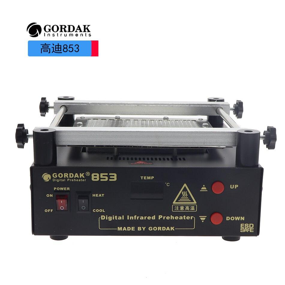 New Upgrade GORDAK 853 High Power Infrared Preheating Station PCB Desoldering BGA ESD Rework Station