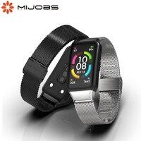 Per Huawei Honor Band 6 cinturino Smart Wristband sostituzione cinturino cinturino per Honor Band 6 bracciale accessori da polso in metallo