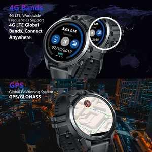 Image 5 - הכי חדש דגל Zeblaze THOR 5 פרו חכם שעון גברים קרמיקה לוח 3GB + 32GB Dual המצלמה 800mAh GPS שעונים חכם שעון כושר