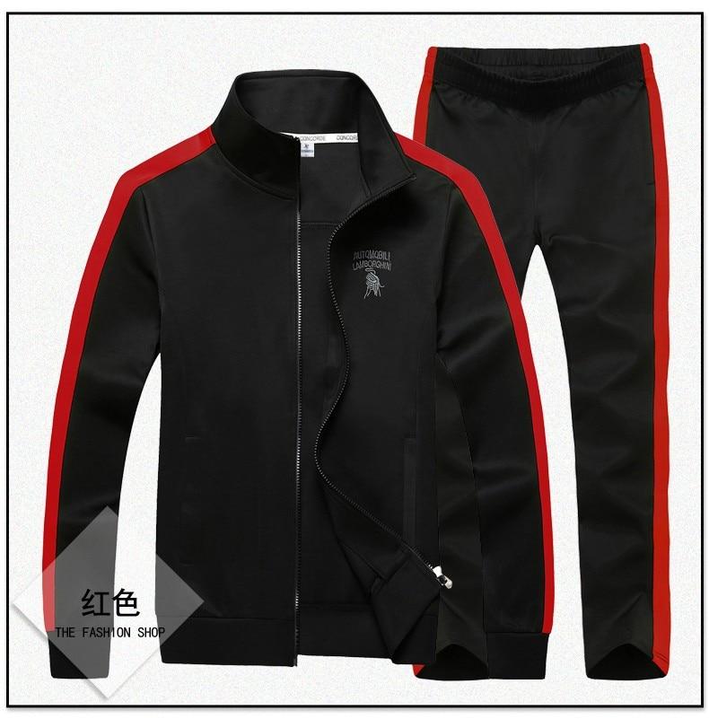 Image 2 - Спортивный костюм, набор мужской одежды, модная одежда большого размера плюс 8XL 9XL, спортивная одежда для мужчин, толстовка с
