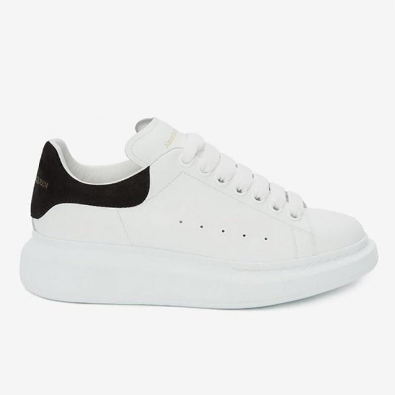 Crocodile Men&Women McQ Leather SKateboard Shoes Street Sneaker Athletic Sports Shoes Women Height Increase Off White Footwear