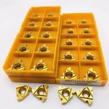 Outil de tournage fileté en métal de haute qualité, outil de tournage CNC, insertion en alliage dur pour tour, MMT MMT22ER AG60 UE6020 US735