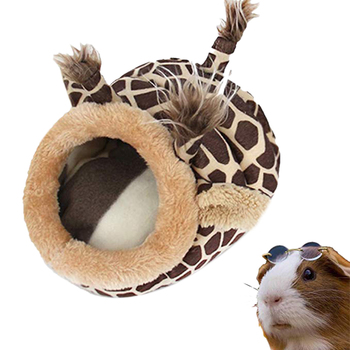 Pet Warm Bed Chinchilla Hedgehog Guinea Pig Bed Accessories Cage Toys Small Animal House Hamster Supplies Habitat Ferret Rat Nes 3