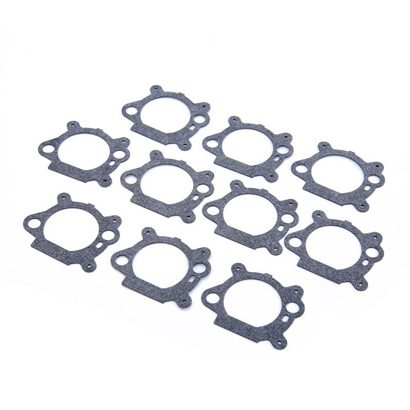10pcs Carburetor Air Cleaner Gaskets For Briggs Stratton 124700 124800 126700 Mounting Gaskets Lawn Mower Parts