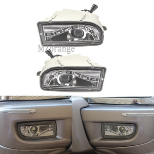LED DRL Fog Light Lamp Foglights For LAND CRUISER 100 FZJ100 HZJ105 HDJ10 UZJ100 LC100 1999-2006 LH-81221-60031 RH-81211-60112
