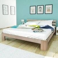 vidaXL Bed Frame Solid Pinewood 180x200 cm 6FT Super King