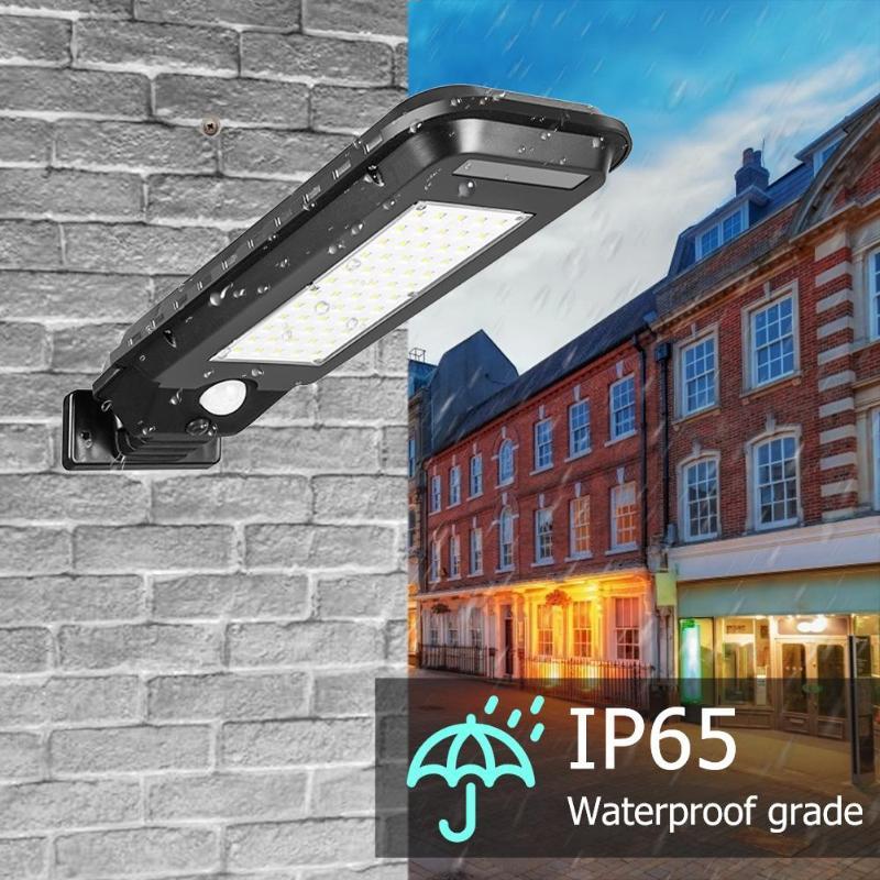 Waterproof Outdoor Solar Light ABS 120 Degrees Induction Angle Garden Yard Motion Sensor Street Lamp 25/40/60LED/100/210COB