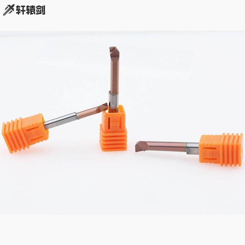 MUR3 R0.15 L10 MUR4 R0.15 L15 MUR5 R0.2 L20 MUR6 R0.2 L20 Mini herramienta de perforación interna revestida