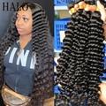Волнистые человеческие волосы 28, 30, 32, 40 дюймов, волнистые, 1, 3, 4 пряди, натуральные необработанные натуральные волосы двойного размера, волни...