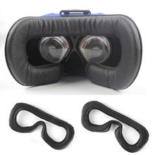 لينة بولي Leather جلد الوجه رغوة قناع عين الوسادة ل HTC Vive سماعات VR تنفس قناع عين غطاء ل HTC Vive اكسسوارات
