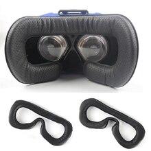 Morbido Pad in pelle PU per maschera per gli occhi in schiuma per HTC Vive VR cuffia traspirante per maschera per gli occhi per HTC Vive accessori