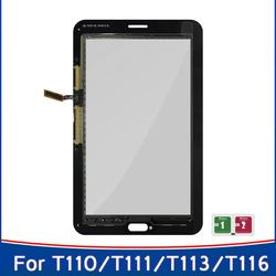 New For Samsung Galaxy Tab 3 Lite 7.0 SM-T110 T110 Touch Screen T111 T113 T116 Digitizer Front Glass Panel Sensor Replace Parts
