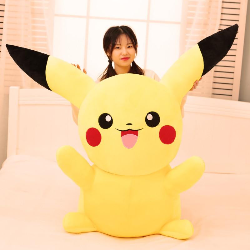Large Pikachu Plush Toy Bikachu Doll Creative Dolls Give Birthday Gifts
