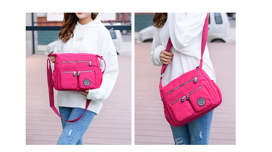 He68b7684d5fa4f77bf69952ccd31b232y - Waterproof Nylon Women Messenger Bags Carteira Vintage Hobos Ladies Handbag Female Crossbody Bags Shoulder Bags