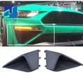 Schwarz Front Stoßstange Drei-dimensional Air Intake Trim Panel Dekorative Platten Für Ford Mustang 2018 + Roush
