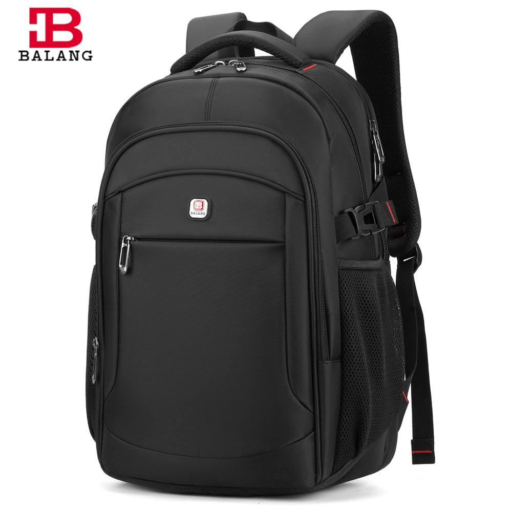 BALANG Brand 2019 Men's Laptop Backpack Male Luggage Shoulder Bag Teenagers School Waterproof Backpacks Business Travel Bags
