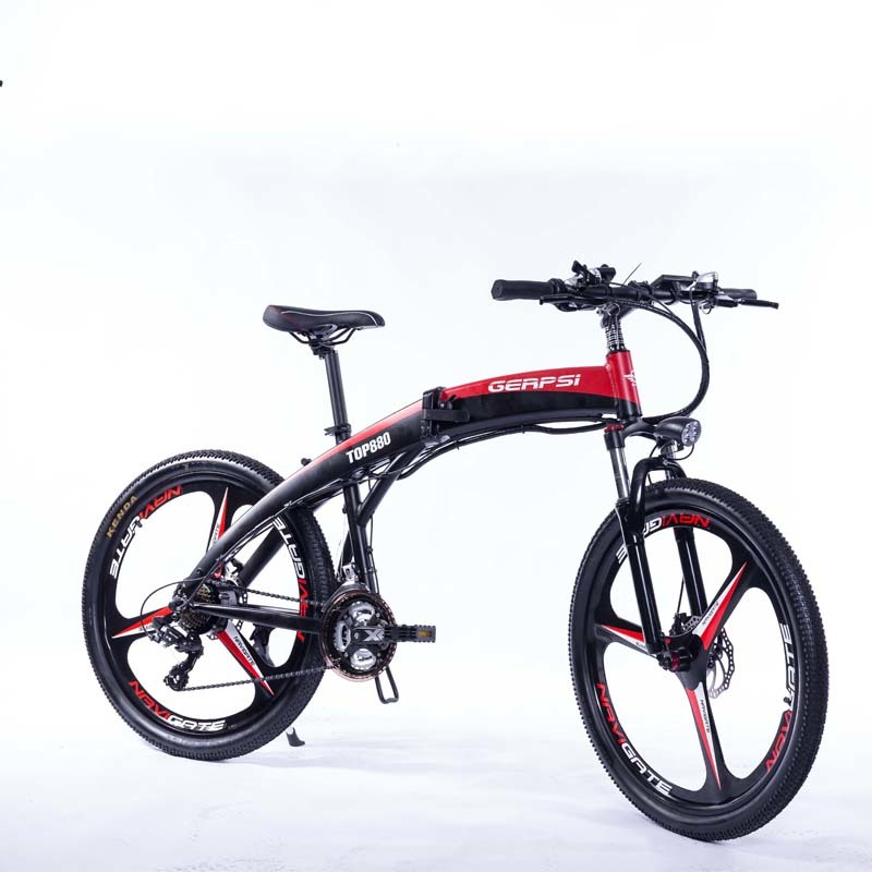 "With Gps-02609ea Electric 250w Mountain Bike Folding 26"" Super Lightweight Alloy Integrated W bicicleta electrica eurobike 2"