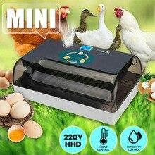 Новинка; Лидер продаж инкубатор для яиц Полностью автоматическая цифровая 12 Яйца птицы инкубатор выводной шкаф для куры утки USJ99