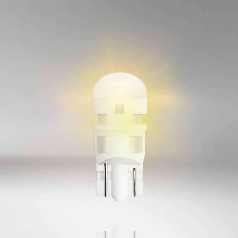 OSRAM T10 2880YE wyn5w 12V 1W LED amarillo LEDriving luces de señalización lateral para coche estándar Luz de señal de giro 2.000 h de por vida envío gratis