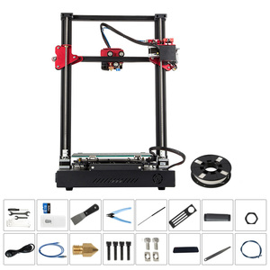 Image 5 - CREALITY CR 10S Pro 업그레이드 된 자동 레벨링 3D 프린터 DIY 자체 조립 키트 300*300*400mm 대형 인쇄 크기