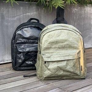 Image 1 - PUBGS Unisex Backpack 2020 New School Bag Waterproof Original Sense Kraft Paper Design for Computer