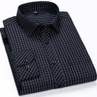 Classic Standard-fit Plaid/striped Dress Shirts 1