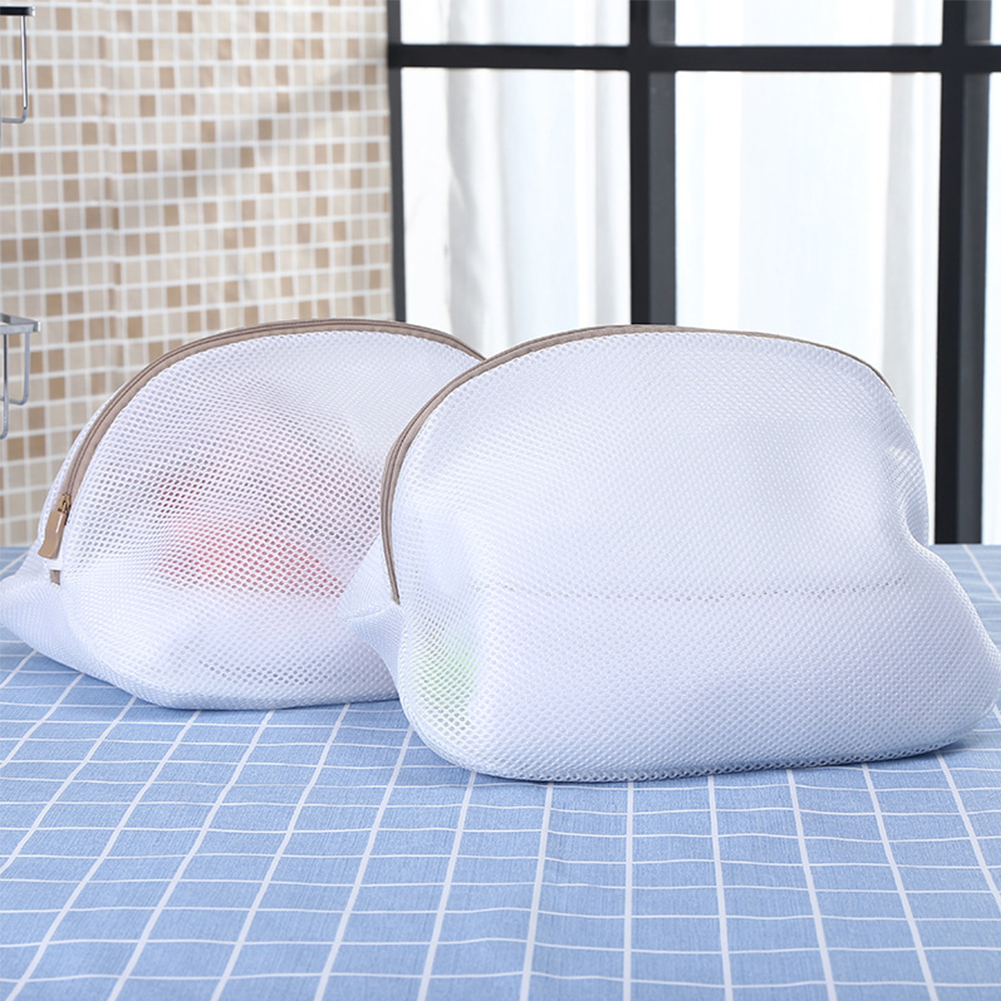 With Zipper Protection Laundry Bag Machine For Shoes Washing Net Home Socks Polyester Folding Bra Clothes Modern Hood Covers