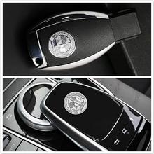 Ключи наклейка shell аксессуары для интерьера автомобиля Mercedes AMG W211 W212 W210 W203 W204 W126 W140 W168 W169 W176 W177 наклейки