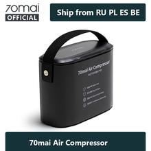 الأصلي 70mai ضاغط هواء للسيارة 12V الكهربائية 70mai سيارة مضخة هواء 70mai سيارة منفاخ لإطارات السيارة السيارات إطار دراجة Pumb دراجة نارية