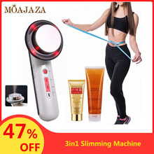 Ultrasound Cavitation Massager EMS Face Body Slimming Machine Weight Loss Products With Anti Cellulite Cream Fat Burner Device ultrasound massager photon galvanic ion device cavitation ems magic glove weight loss lipo anti cellulite fat burn sonic machine