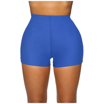Woman Stretch Solid color Bike Shorts for women Workout Short Mini High Waist Shorts Gym Sports plus size calzones mujer sexy #Y image