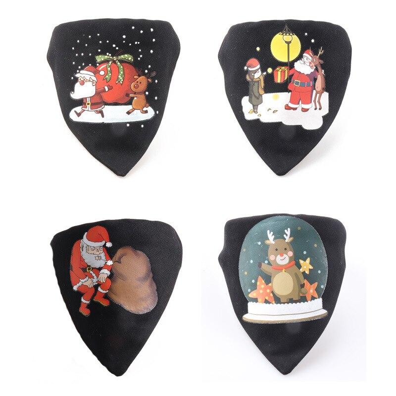 Amin Lattice New Products Pet Collar Christmas Series Dog Elk Neck Ring Bibs Triangular Binder Neck Ring