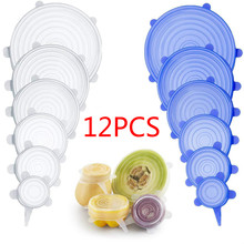 Pot Lid Cover-Pan Bowl Stretch-Lids Kitchen-Accessories Cooking Universal Silicone Food-Wrap