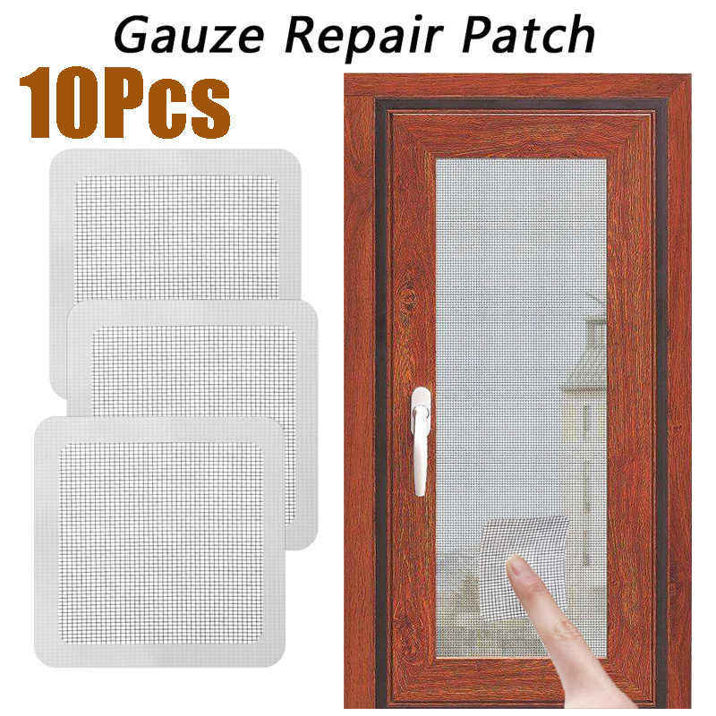Fix Netto Venster Home Adhesive Anti Mosquito Fly Insect Insect Reparatie Screen Wall Patch Stickers Mesh Venster Scherm Netto mesh
