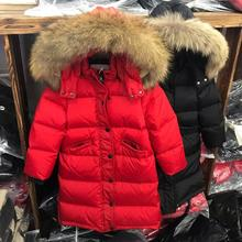 Wholesale New children down coats long thicker warm outerwea