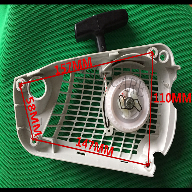 Rewind Starter / Fan Housing / Pull Recoil For STIHL Chainsaw MS192T, MS192 T-Z  MS 192 192 MS193T Chain Saw Spare Parts