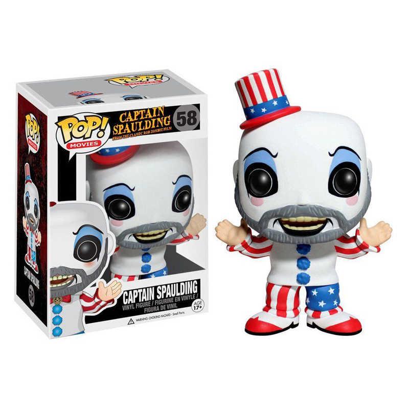 Funko POP capitán Spaulding vinilo figuras de acción modelo juguetes regalos