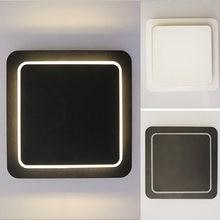 Homelamp Настенный светильник для гостиной вращающийся квадратный
