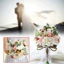 Elegant Bridal Bouquet Accessories Bridesmaid Simple Designed Party Wedding