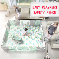 Indoor Baby Playpens Fencing for Children Kids Activity Gear Environmental Protection Barrier Game Safety Fence Kids Play Yard