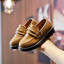 AFDSWG sztuczny PU dla dzieci buty dla dziewczynki księżniczka czarny dziecko mokasyny brązowe dzieci buty szkolne skórzane buty dla dzieci tanie tanio RUBBER Unisex Pasuje prawda na wymiar weź swój normalny rozmiar 12 m 21 m 24 m 26 M 23 M 35 M 10 t 13 t 14 T 31 M 25 M