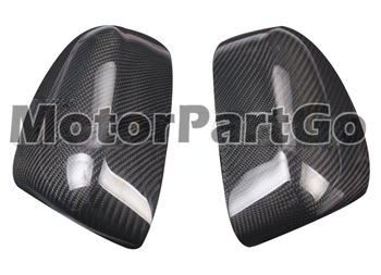 Real Crabon Fiber Mirror Cover 1 pair for  FORD New Focus 2012-2018 1