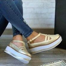 New Women Summer Sandals Fashion Wedges Woman Platform Shoes Gladiator Ladies Buckle Strap High Heel Plus Size
