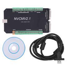 NVCM 5 ציר CNC בקר MACH3 USB ממשק לוח כרטיס עבור מנוע צעד באיכות גבוהה