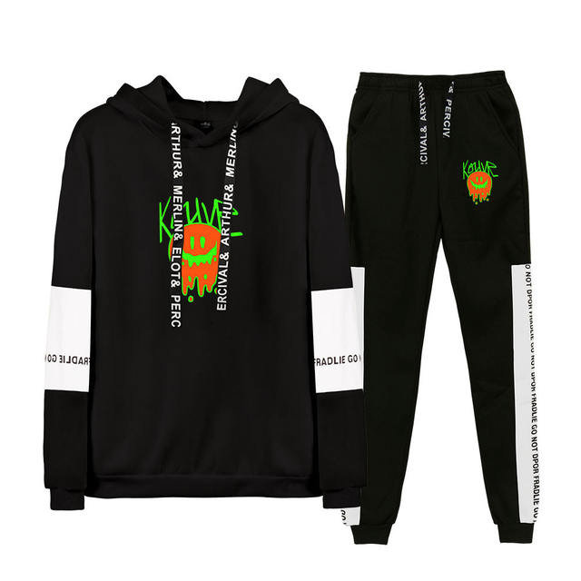 SET KOUVR ANNON THEMED HOODIE + TROUSERS (20 VARIAN)